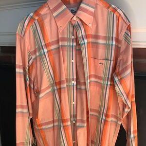 Mens Lacoste Dress Shirt